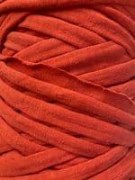 Medium T-Shirt Recycled Jersey Knitting Crochet Rug Yarn Terracotta
